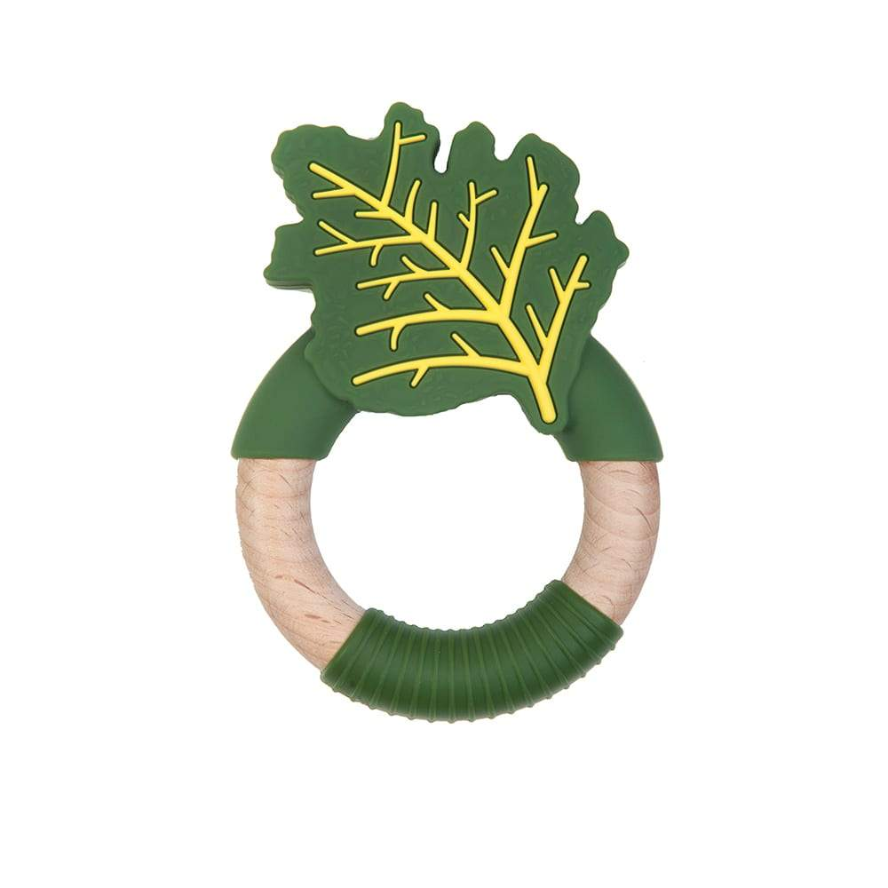 Kale teething toy Nibbling Toys Nibbling