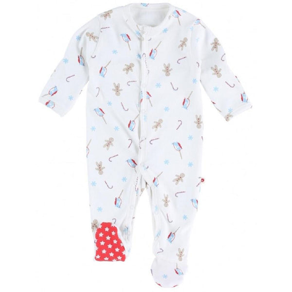Sleepsuit gingerbread Bottoms Piccalilly