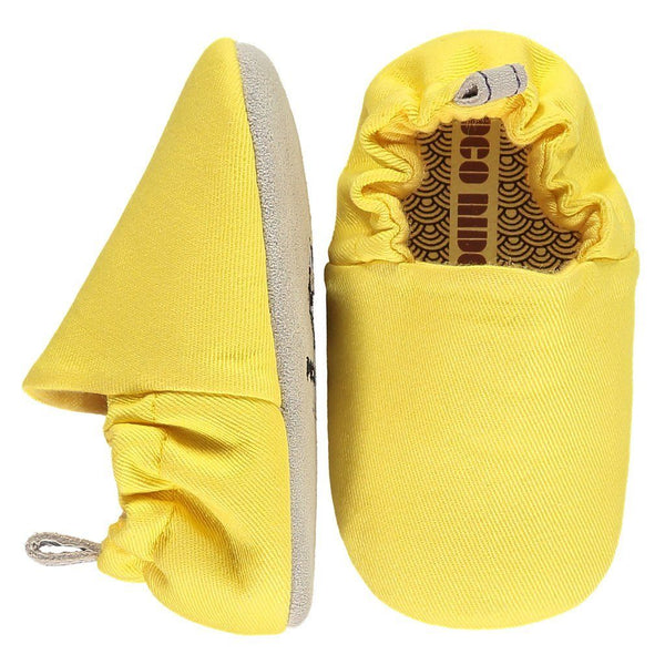 Plain sunshine yellow mini shoes 17-22 Poco Nido