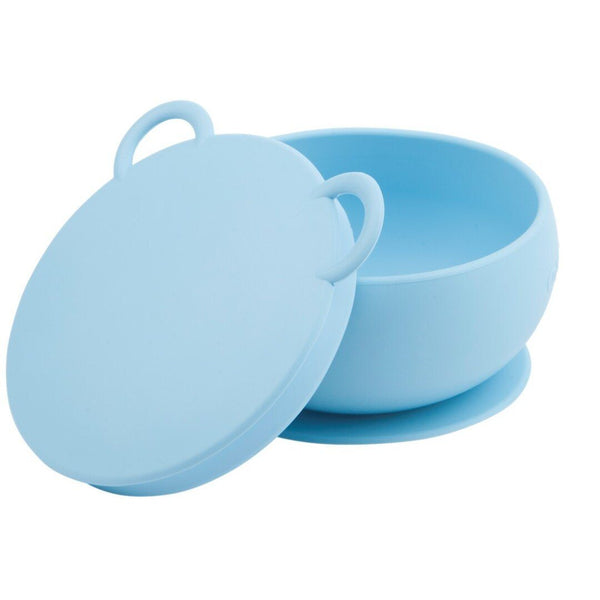 Suction bowl blue Minikoioi Dinnerware minikoioi