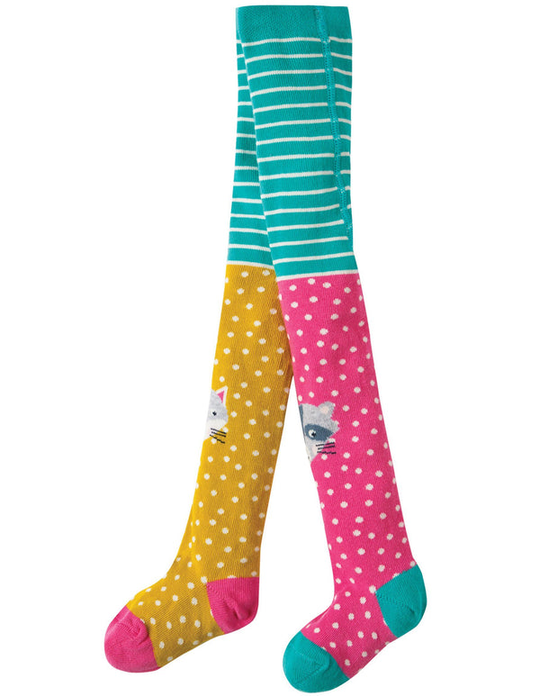 Fun knee tights Frugi