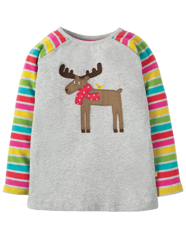 Moose raglan top Frugi Tops Frugi