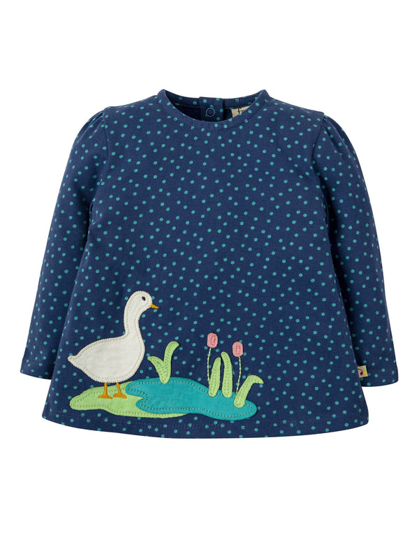 Connie top - duck Frugi