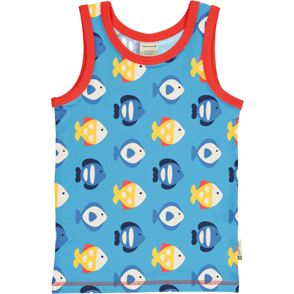 Tropical aquarium tank top Maxomorra Tops Maxomorra