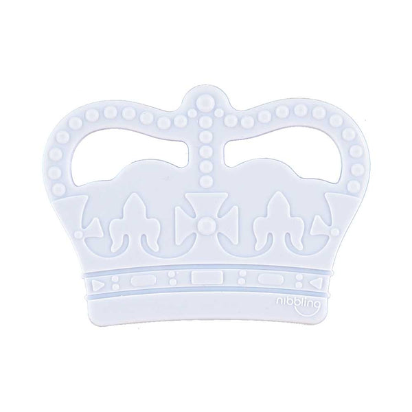 Crown teether blue Nibbling