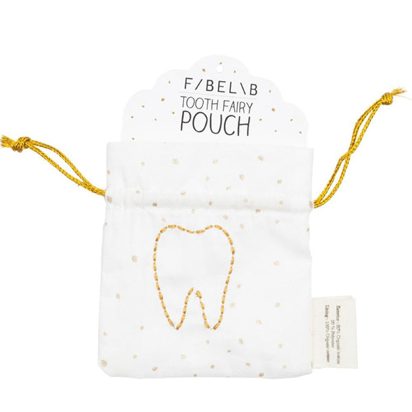 Tooth fairy pouch Fabelab muslin Fabelab