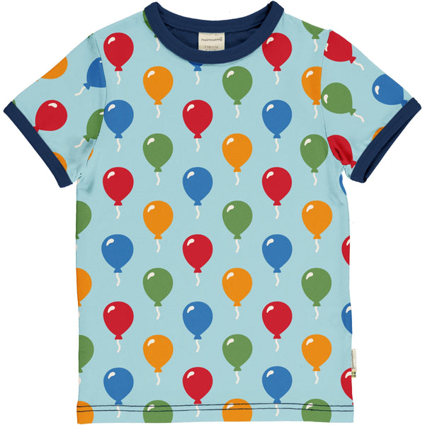 T-shirt balloon Maxomorra Tops Maxomorra