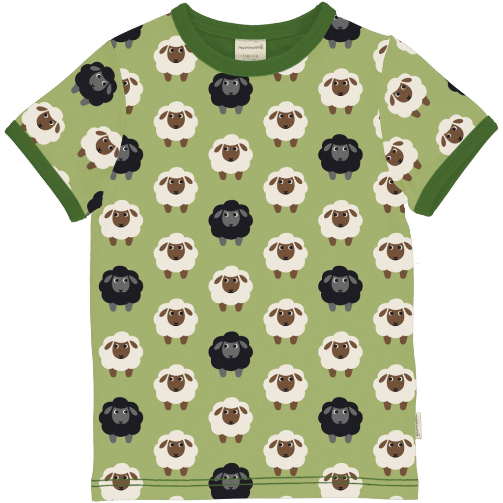 T-shirt sheep Maxomorra Tops Maxomorra