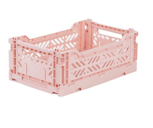 Mini milk tea folding crate Aykasa