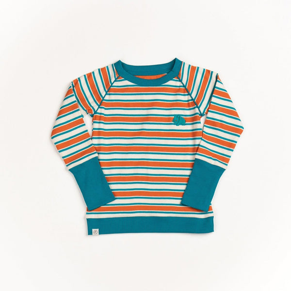 Henric blouse rust magic striped AlbaBaby