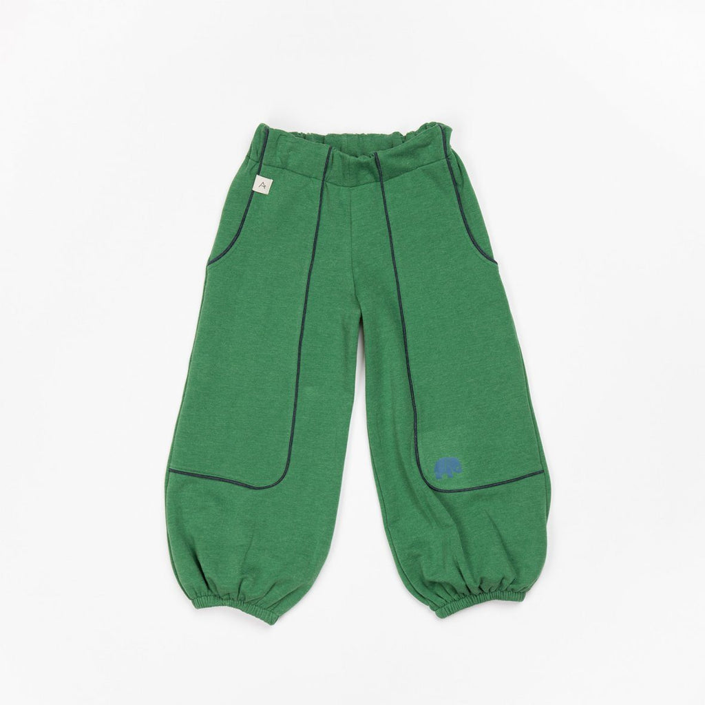 Hobo baggy pants juniper green AlbaBaby