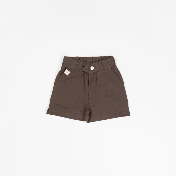 My grandfathers's shorts chocolate brown AlbaBaby Bottoms Alba of Denmark