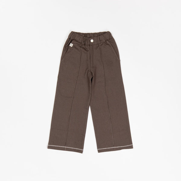 Rock it box pants chocolate brown AlbaBaby Bottoms Alba of Denmark