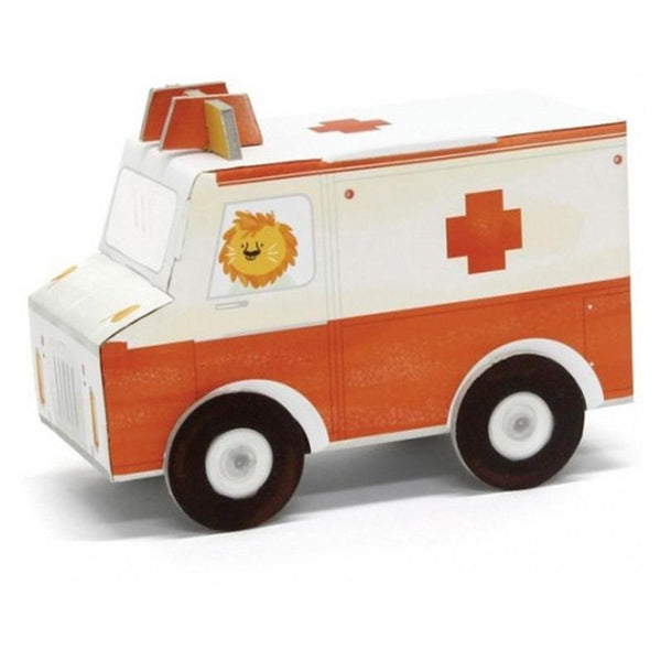 Fold my car - ambulance