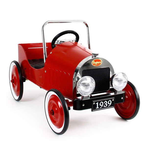 Pedal car classic red Baghera