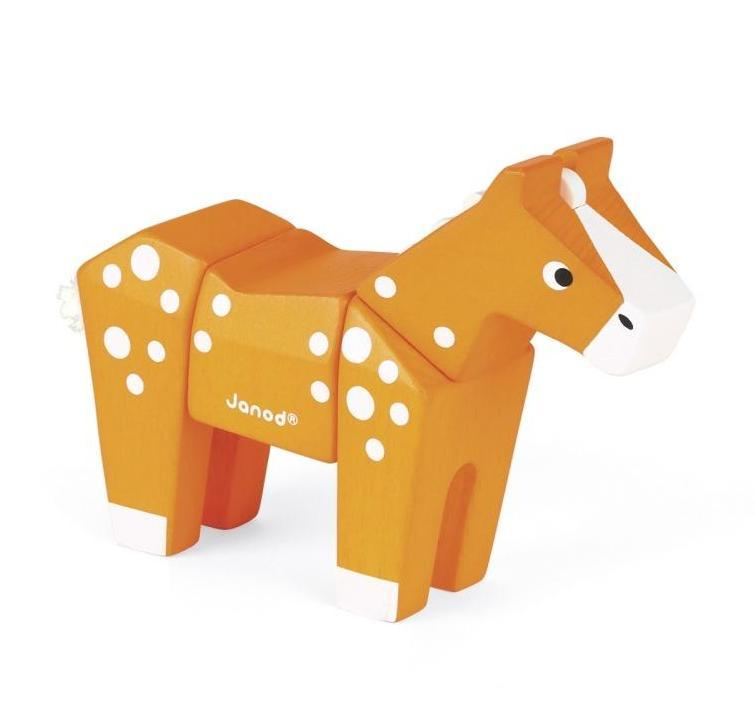 Animal kit horse Toys Janod