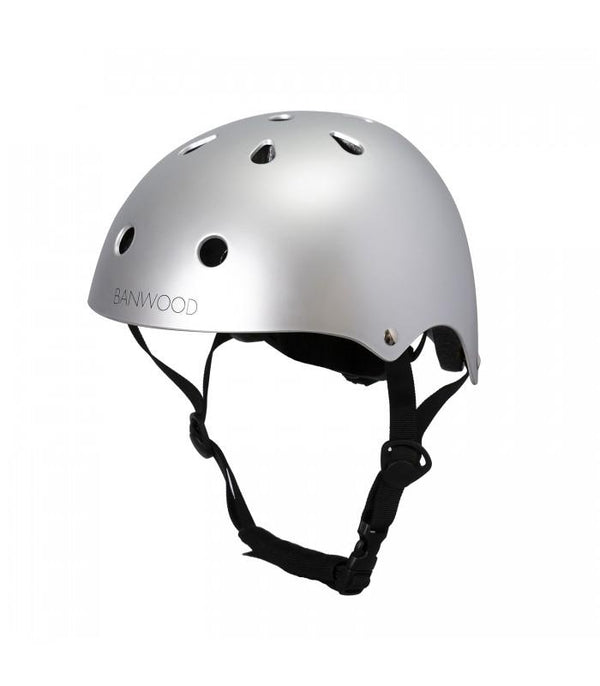 Classic helmet Banwood - matte chrome