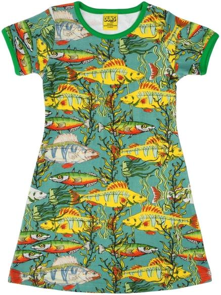 Dress fishes sea weed teal Duns Sweden ADULT