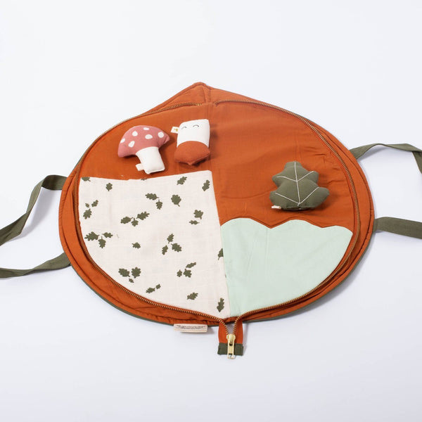 Play purse leaf Fabelab Toys Fabelab
