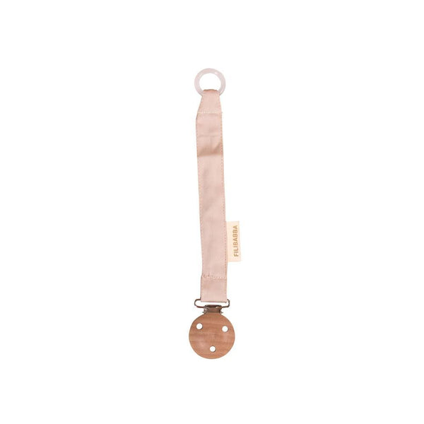 Pacifier holder nature white Filibabba