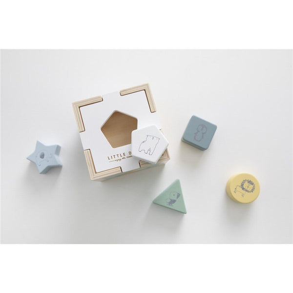 Wooden shape sorter Little Dutch
