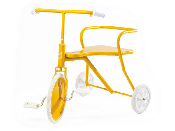 Metal tricycle yellow Foxrider Toys Foxrider