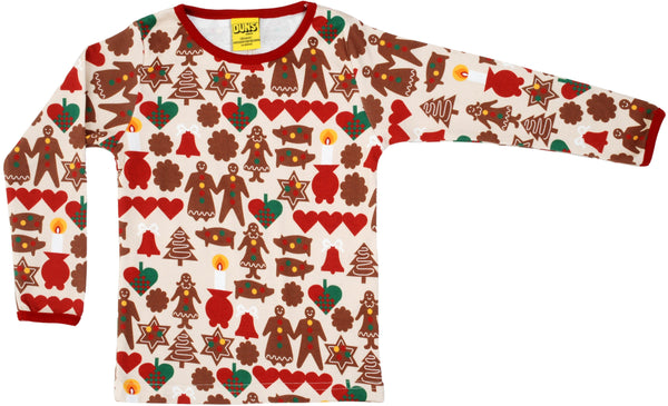 Gingerbread LS top Duns Sweden Tops Duns Sweden