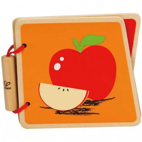 Fruit wooden book Hape