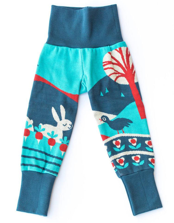 Rabbit love leggings Merle Bottoms Merle