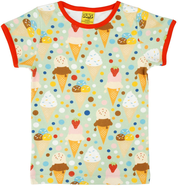 Ice cream pistage t-shirt Duns Sweden