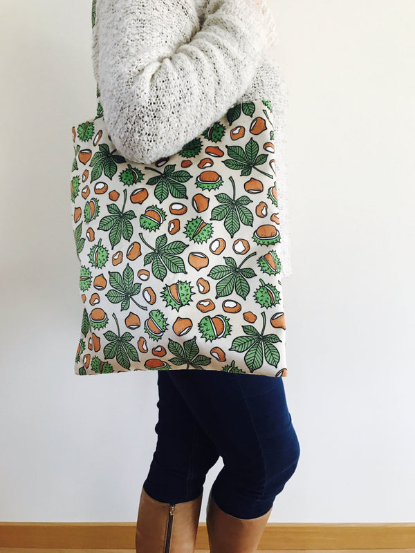 Tote bag conkers