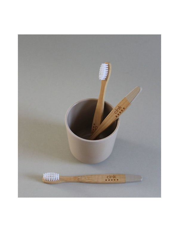 Kids bamboo toothbrush fog cink Accessories cink
