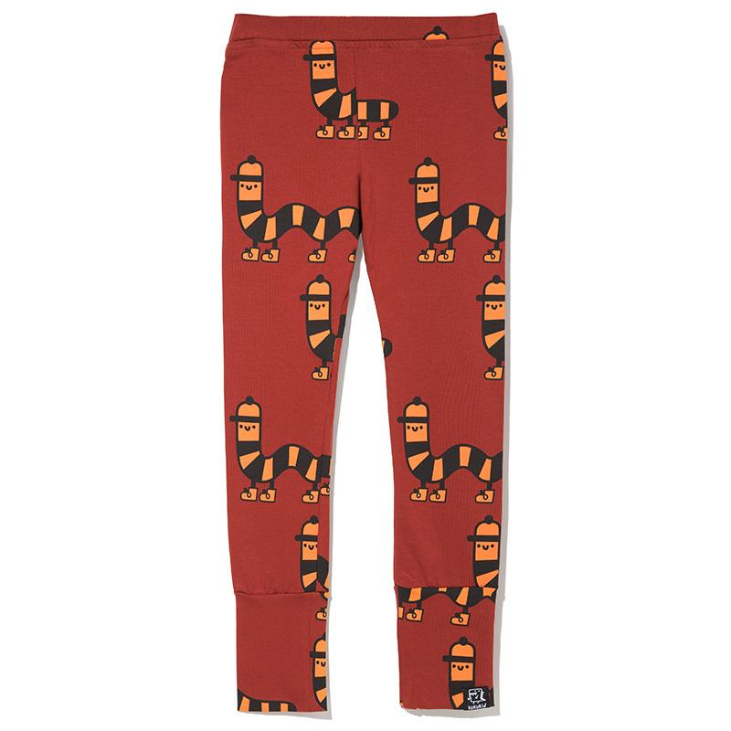 Leggings brown Millipede Bottoms Kukukid