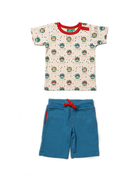 Leo lion t-shirt set Little Green Radicals playsuit Little Green Radicals
