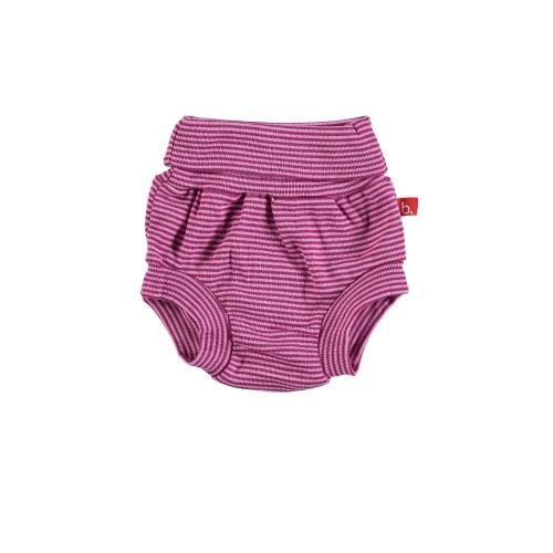 Nappy pants stripes magenta