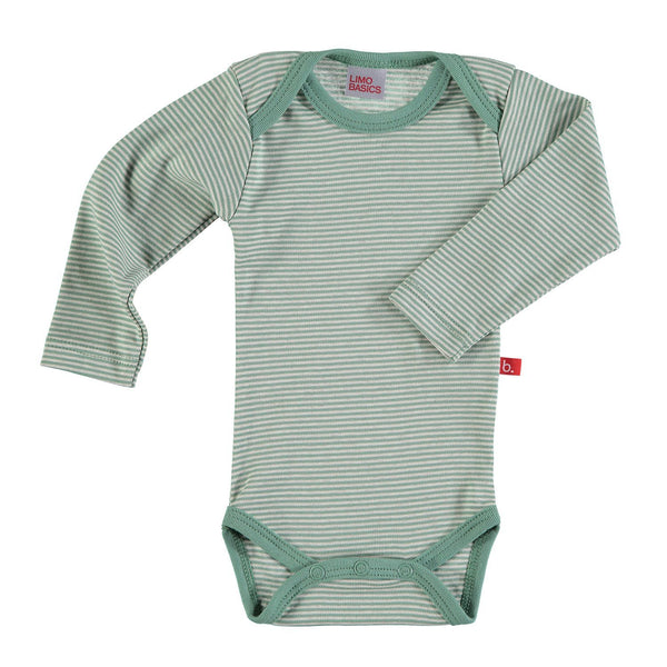 Body LS striped green