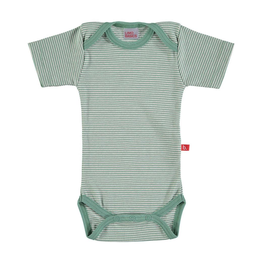 Body SS striped green sand