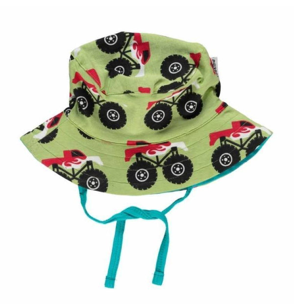 Monster truck hat sun cord