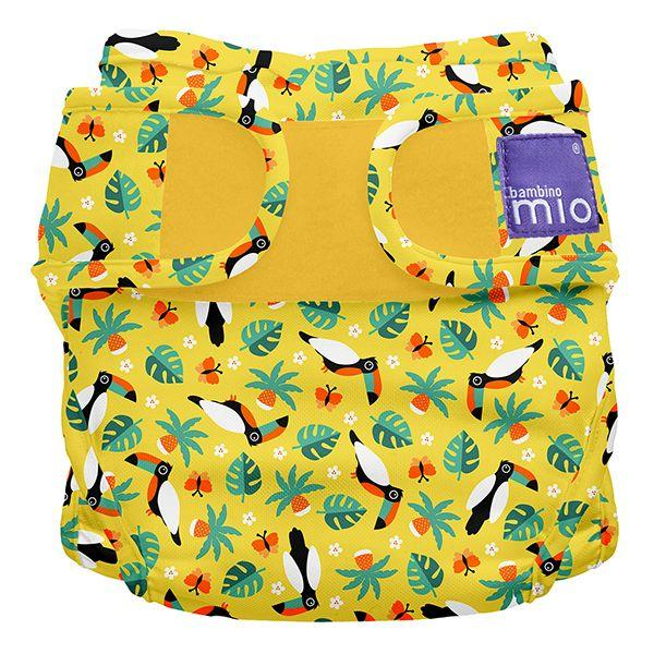 Nappy cover miosoft tropical toucan Bambino Mio