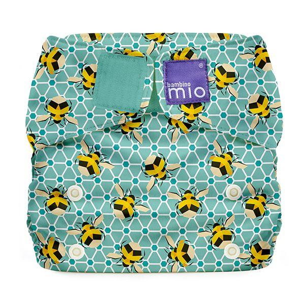 All-in-one reusable nappy bumble Bambino Mio