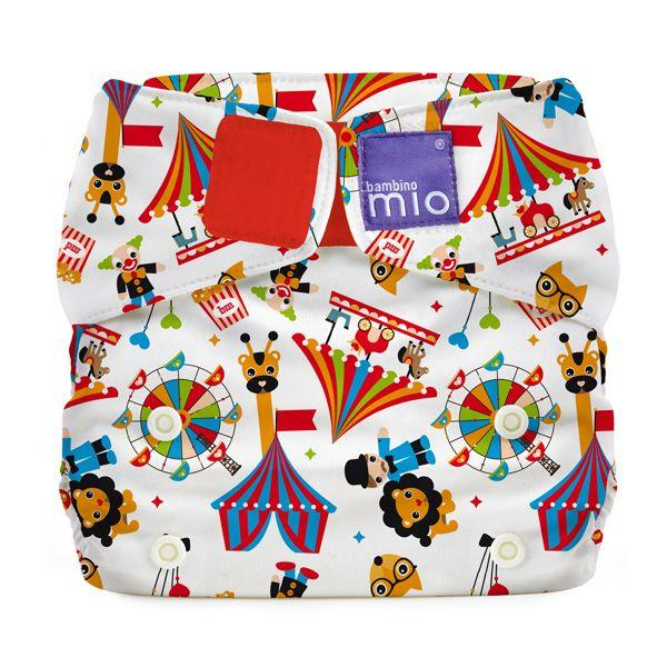 All-in-one reusable nappy circus time Bambino Mio