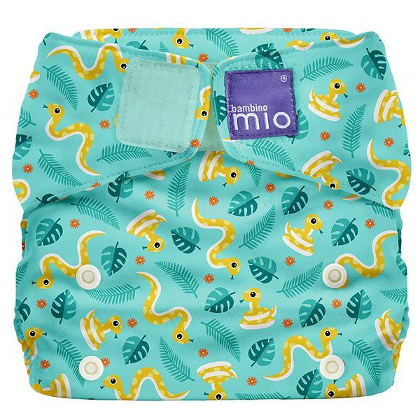 All-in-one reusable nappy jungle snake Bambino Mio