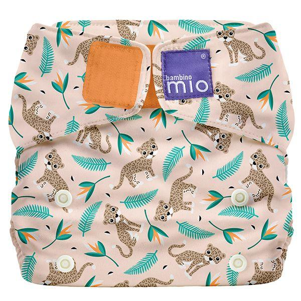 All-in-one reusable nappy wild cat Bambino Mio