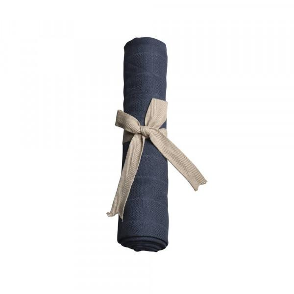 Muslin dark blue Filibabba
