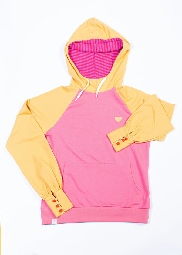 My favourite hoodie bright gold AiA WOMAN AlbaBaby Woman Alba of Denmark