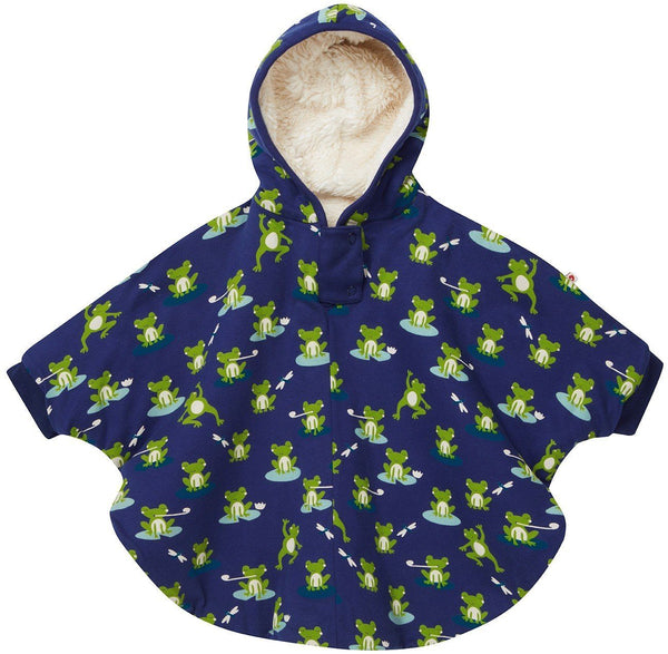 Kids poncho frog Piccalilly