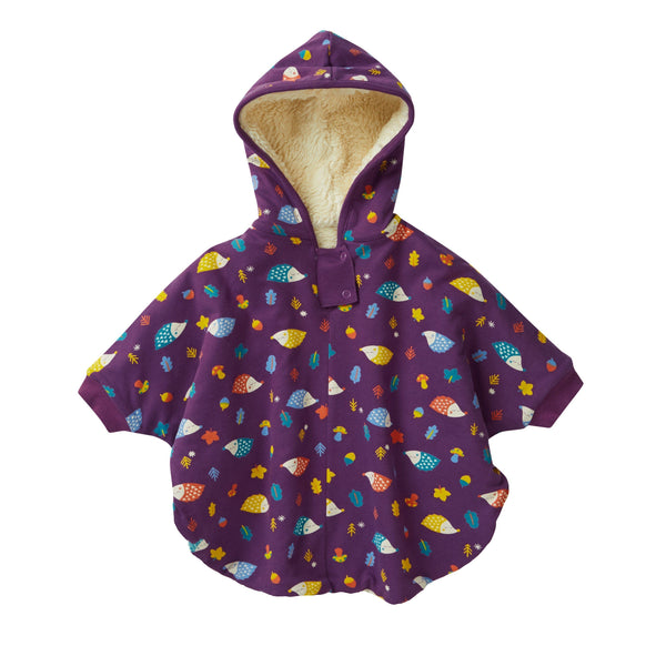 Women's poncho hedgehog Piccalilly