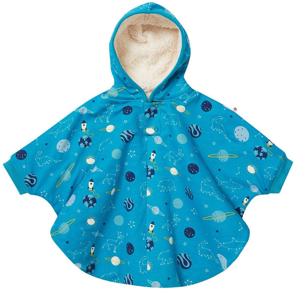 Kids poncho space Piccalilly
