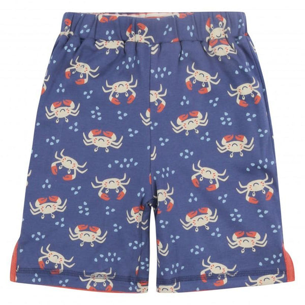 Reversible shorts crab Piccalilly Bottoms Piccalilly