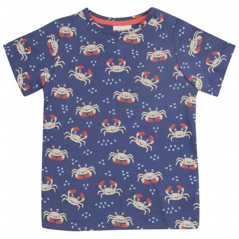 Crab t-shirt Piccalilly Tops Piccalilly